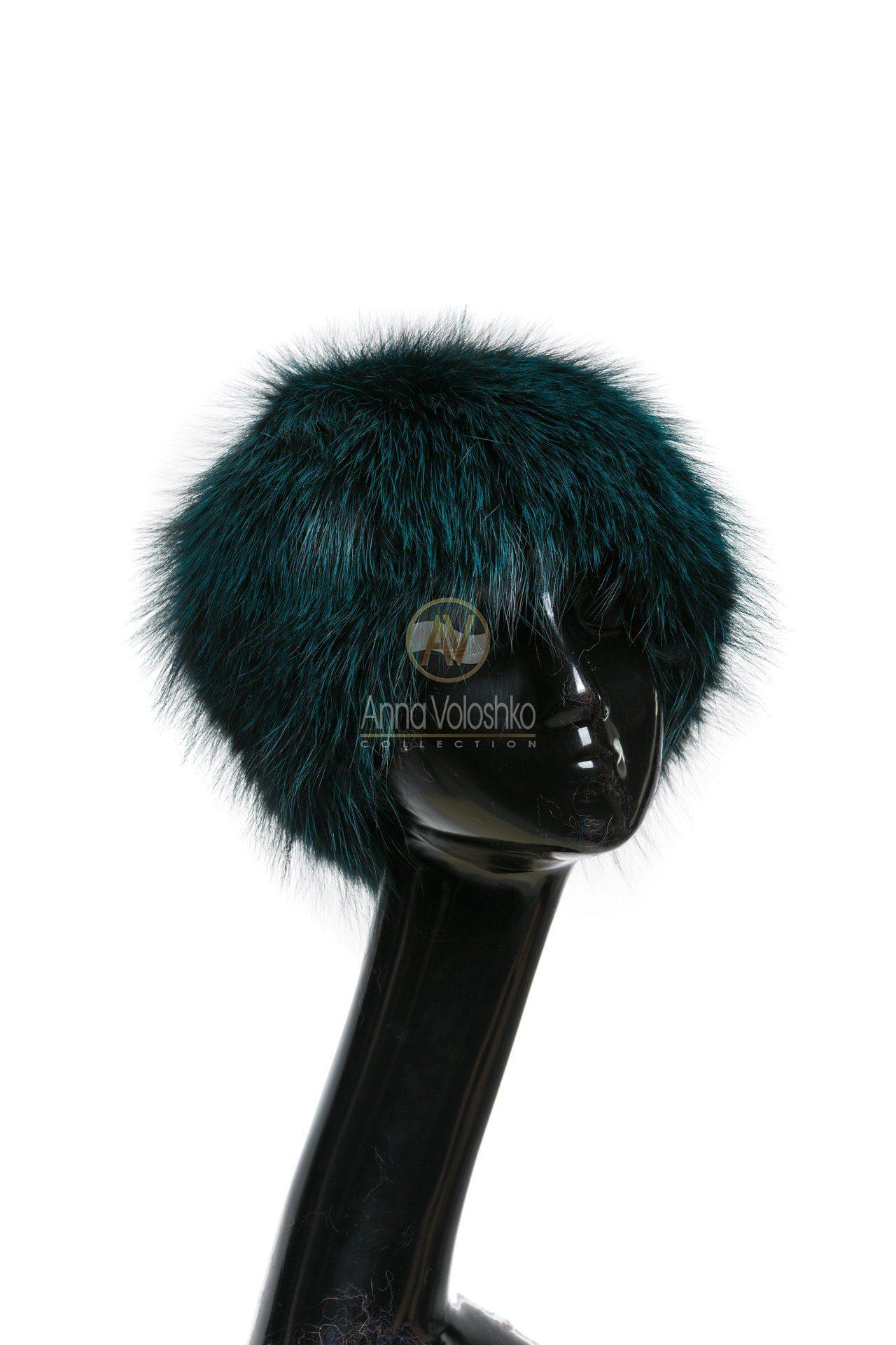 Купить шапки из меха лисы