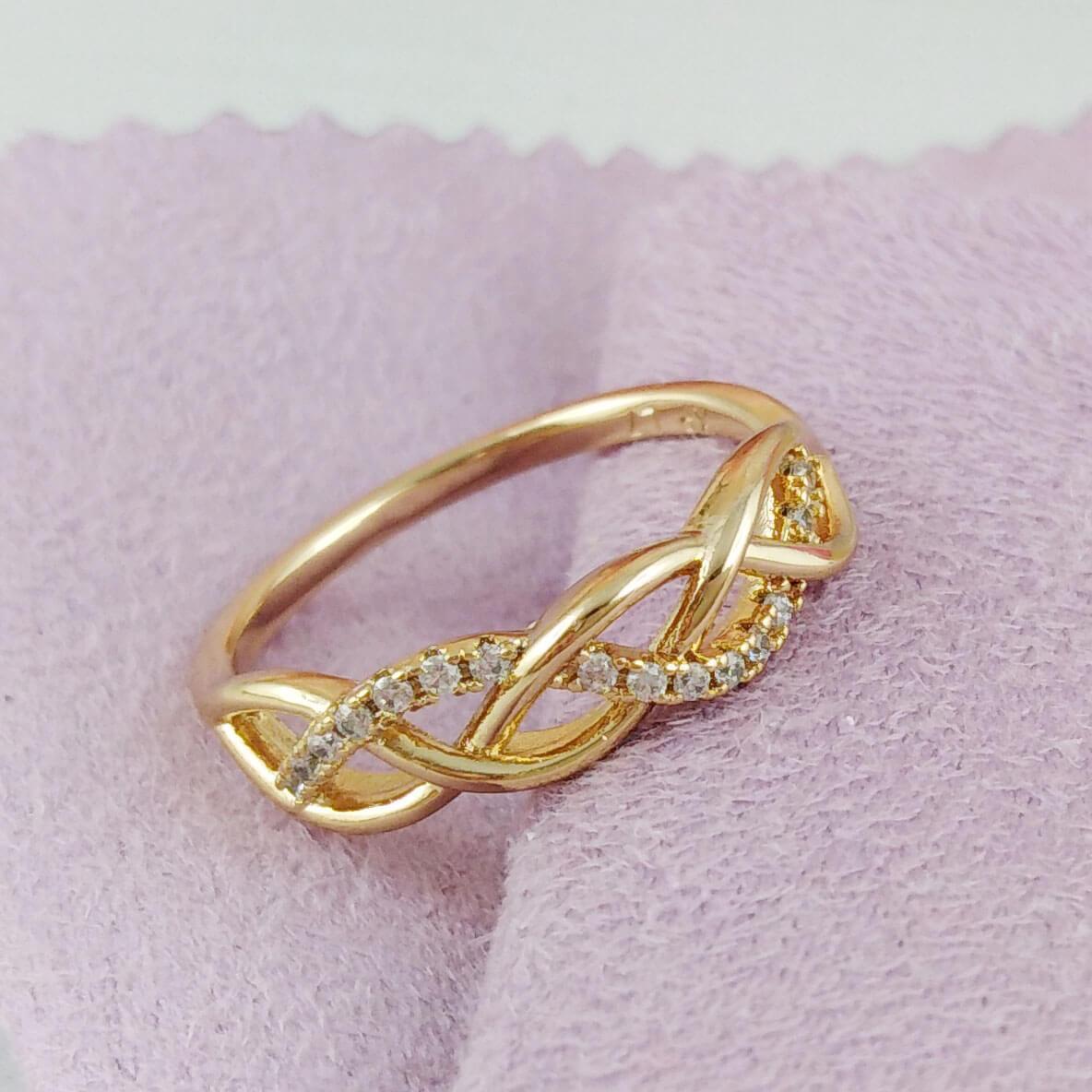 Уникальная бижутерия Xuping. Кольца из медицинского золота.